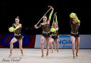 Украинские гимнастки взяли серебро и бронзу на этапе Кубка мира