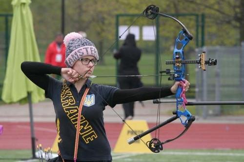 Сборная Украины выиграла золото Кубка Европы по стрельбе из лука