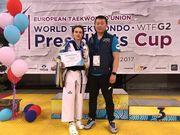 Украинские тхэквондисты завоевали 4 медали на турнире в Афинах