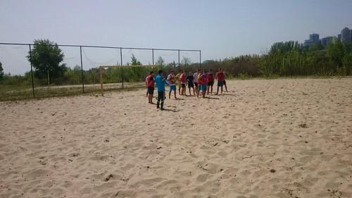 Пляжний футбол: молодіжна збірна України розпочала збір у Дніпрі