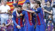 Барселона разгромно победила Вильярреал на Камп Ноу