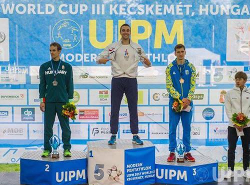Тимощенко стал бронзовым призером этапа Кубка мира в Венгрии