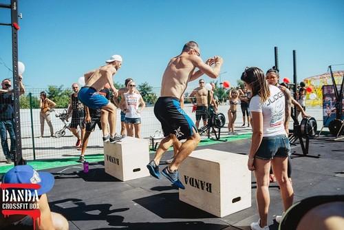 Торжественное открытие второй площадки от CrossFit BANDA в Sky Family