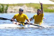 Українські веслувальники здобули чотири медалі на етапі Кубку світу
