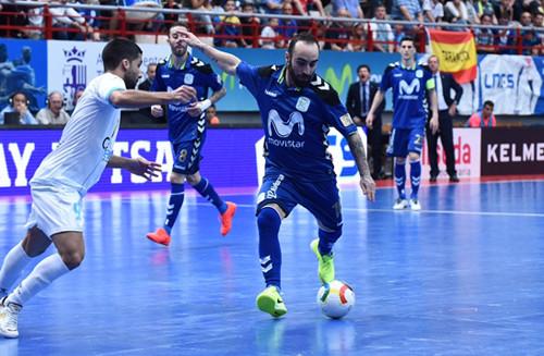 Дубль Рикардиньо вытаскивает Мовистар Интер в полуфинал плей-офф