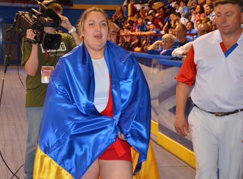 Чемпионат Европы по самбо. Уверенная победа Анастасии Сапсай