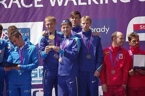 Переможний дубль України на Кубку Європи зі спортивної ходьби