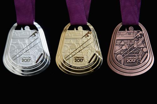 ФОТО ДНЯ. Медали ЧМ-2017 по легкой атлетике