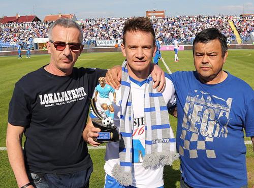 Дмитрий Лепа признан лучшим футболистом Осиека в сезоне
