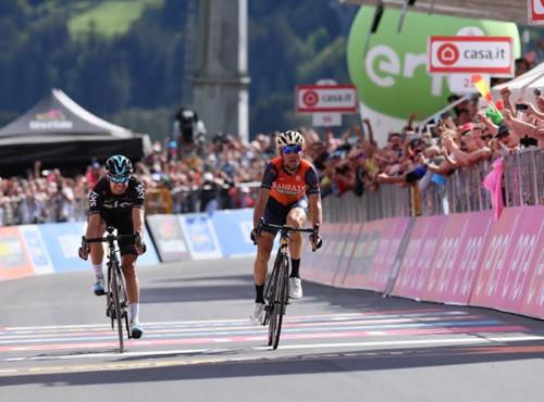 Нибали выигрывает королевский горный этап Джиро д'Италия-2017