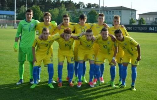 Сборная Украины U-15 оформила первую ничью в истории