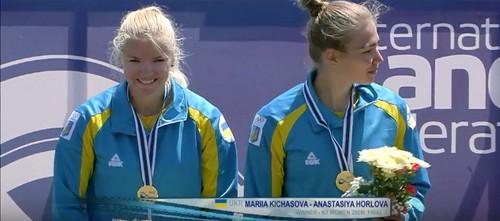 Українські веслувальники завоювали 7 медалей на Кубку світу в Угорщині