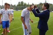 U-21: Динамо наградили золотыми медалями и чемпионским кубком