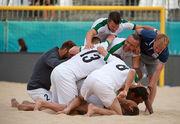 Артур Мьюзик в финале Кубка европейских чемпионов пляжного футбола!