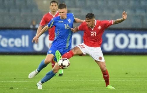 Матч Украина - Мальта не пойдет в зачет рейтинга ФИФА