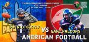 Сборная Украины по американскому футболу сыграет на стадионе Динамо