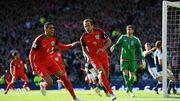Шотландия — Англия — 2:2. Видеообзор матча