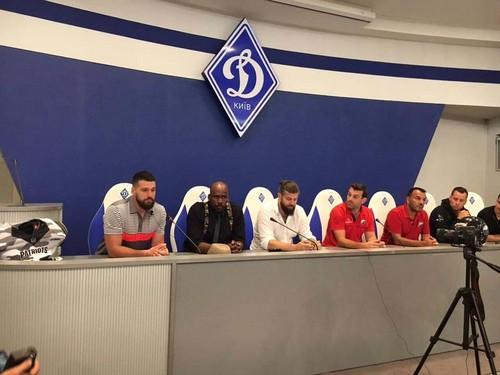 В Киеве презентовали форму сборной Украины