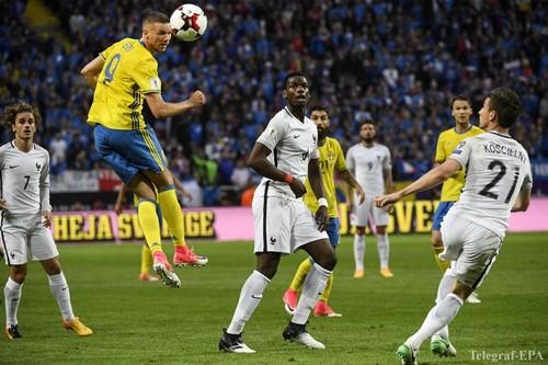 Швеция — Франция — 2:1. Видеообзор матча