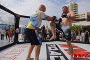 Бойцы турнира WWFC 7 провели тренировку в Киеве