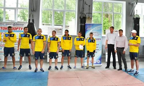 Компания Здоровье поддержала украинских боксеров
