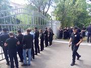 Дом футбола под усиленной охраной полиции
