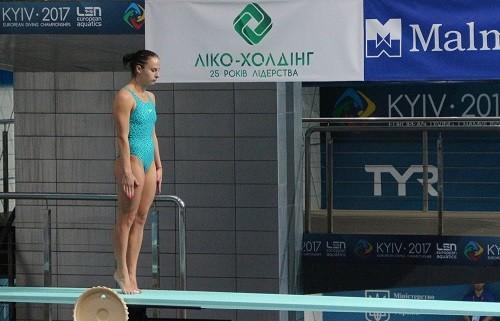 Анна Письменская заняла четвертое место на ЧЕ по прыжкам в воду