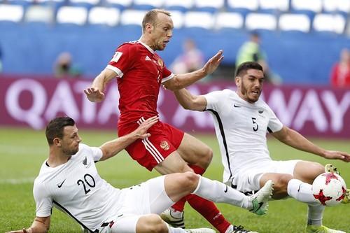 Россия — Новая Зеландия — 2:0. Видеообзор матча