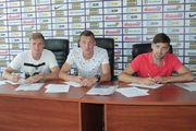 Александрия подписала контракты с Щедрым, Ситало и Бацулой