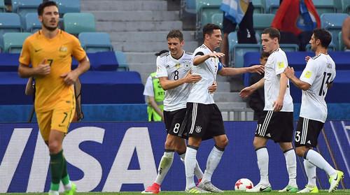 Австралия — Германия — 2:3. Видеообзор матча