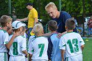 Виктор Коваленко провел мастер-класс с юными херсонскими футболистами