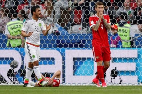Мексика — Россия — 2:1. Видеообзор матча