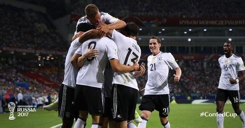 Кубок Конфедераций. Германия громит Мексику в полуфинале