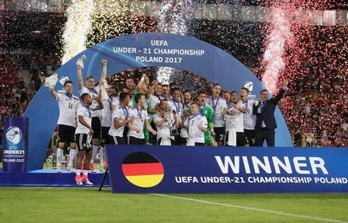 Сборная Германии - чемпион молодежного чемпионата Европы