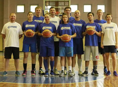 У Києві пройшов баскетбольний табір Dynamo Kyiv basketball camp