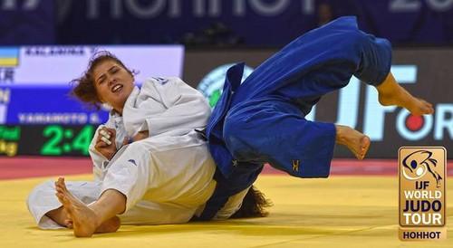Дзюдоистка Каланина стала второй на Гран-при Китая