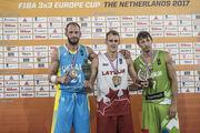 Тимофеєнко увійшов до символічної збірної чемпіонату Європи 3х3