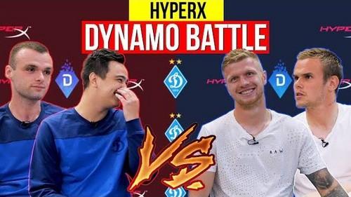 Интервью с игроками Динамо Киев на HyperX Dynamo Battle