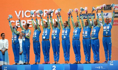 Украинские синхронистки завоевали первое серебро на ЧМ в Венгрии