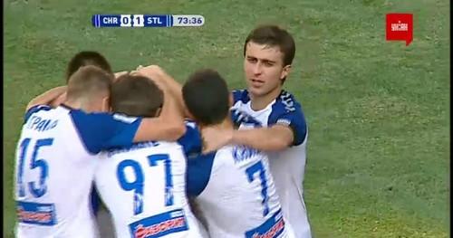 Черноморец — Сталь — 0:1. Видеообзор матча