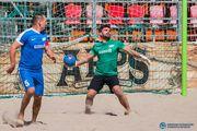 Пляжный футбол: классная интрига в Высшей лиге чемпионата Киева
