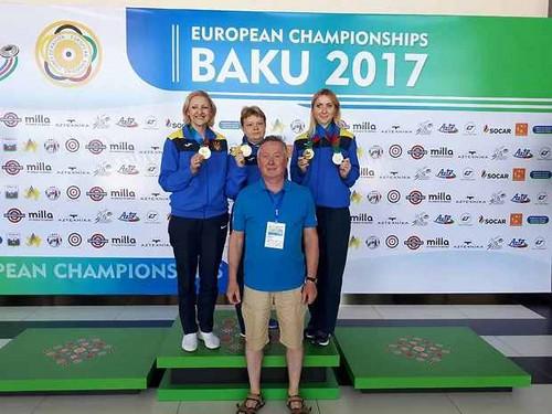 Українські стрілки здобули ще три нагороди на чемпіонаті Європи