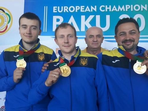 Сборная Украины завоевала 18-ю медаль на чемпионате Европы в Баку