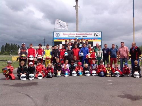 Відбувся етап чемпіонату України та Кубку Дитячої Академії з картингу