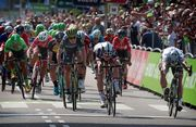 Петер Саган и Фил Баухаус о 1-м этапе велогонки BinckBank Tour-2017