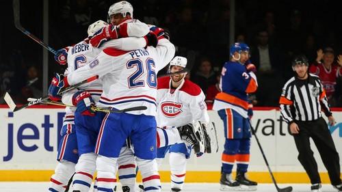 НХЛ. Очередная победа Монреаля, третье поражение Бостона. Матчи среды