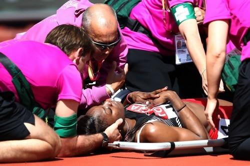 ЧМ-2017. Бегунья из Тринидада и Тобаго получила травму во время забега