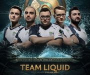 Team Liquid - чемпионы The International 2017