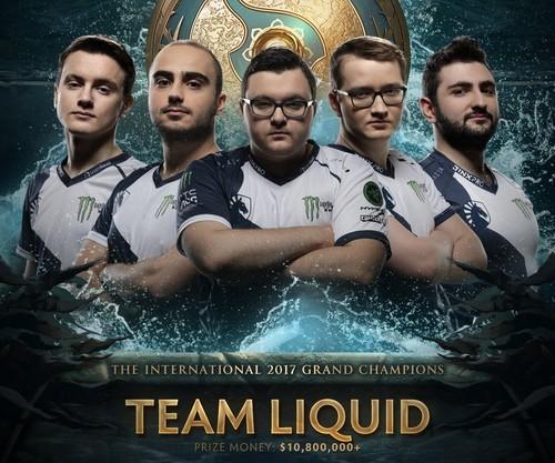 Team Liquid - чемпионы The International 2017
