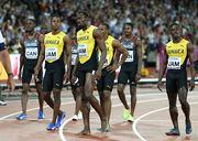 Ямайские спринтеры обвинили организаторов ЧМ в травме Усэйна Болта